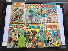 DC BLUE RIBBON DIGESTS Set of 5 ADVENTURE COMICS & LEGION OF SUPER-HEROES TEMPO