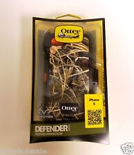 100% Genuine OtterBox Defender Realtree Camo + Holster Belt Clip for iPhone 5