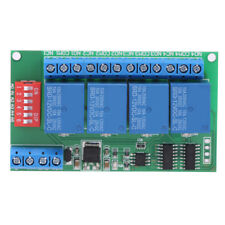 DC 12V 4-Channel RS485 Delay Timer Switch Relay Module Remote Control Hot
