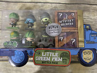 Awesome Little Green Men Battle Pack 8 Soldiers Game Piece Series 2 NEW Sealed