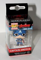Marvel Comics Captain America Mini Bobble-Hero Keychain POP! Funko New Box