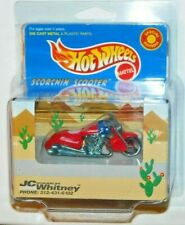 HOT WHEELS JC WHITNEY SCORCHIN SCOOTER SHIPS IN KAR KEEPER