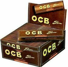 OCB Premium Rolling Paper with Hologram, Size King - Pack of 50