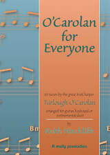 O'Carolan for Everyone: 55 Tunes by the Great Irish Harper Turlough O'Carolan Arranged for Guitar, Keyboard or Instrumental Duet by Keith Hinchliffe (Paperback, 2000)