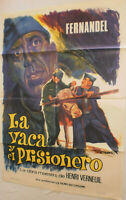 SPANISCH, Filmplakat,Plakat,LA VACA Y EL PRISIONERO,FERNANDEL, #66