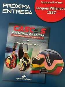 Jacques Villeneuve helmet collection 1/5 new sealed From Argentina