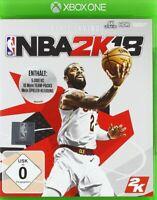 NBA 2K18 Basketball für Xbox One Neu Ovp Deutsch 2K Sports
