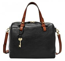 FOSSIL Cross Body Bag Rachel Satchel Black