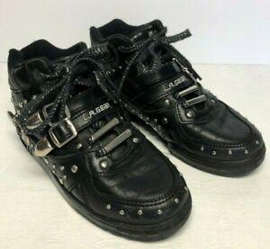Michael Jackson BILLIE JEAN UNSTOPPABLE 90s BLACK LA Gear Shoes  Womens 3.5