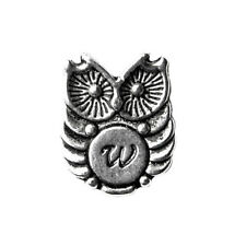 Customizable Owl Lapel Pin - Choose Your Letter