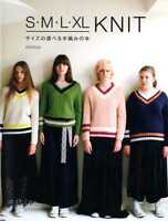 S M L XL Knit Clothes by Michiyo - Japanese Craft Book SP3