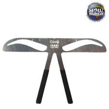 Eyebrow Shaping Balance Ruler Brow Stencil Reusable SPMU Measure Makeup Tool