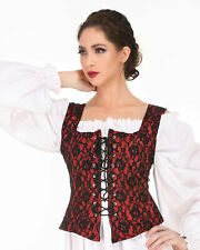 Women's Medieval Goth Bodice, High quality hand crafted, one by one COOL!!