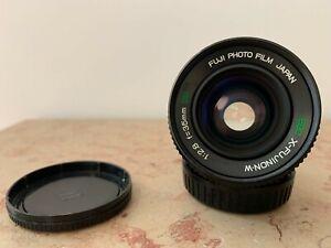 Prime lens : EBC X-FUJINON-W 35mm f2.8 Tested - X Fujinon mount.