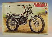 Heller 1/8 Kit Kit Nº 902 MOTO YAMAHA TY 125 neuf dans sa boîte #2751
