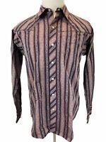 Patagonia Mens long sleeves shirt button down Shirt Organic cotton Size M