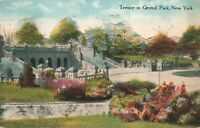 Postcard Terrace in Central Park New York