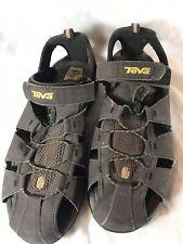 Teva Mens Shockpad Strap Hook and Loop Fisherman Sandals Size 12