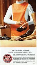 Publicité Advertising 039  1968  le cirage chaussures Kiwi