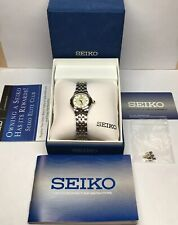 Seiko 7N82-0DH0 Women's Le Grand Sport Stainless Steel Two Tone Watch NWOT