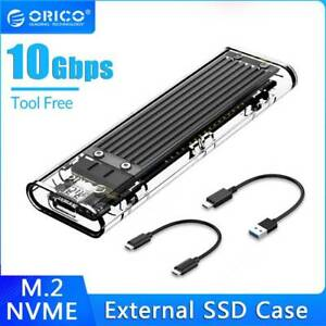 ORICO M2 SSD Case NVME Enclosure M.2 to USB Type C 3.1 SSD Adapter for NVME
