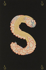 """ERTE SERIGRAPH, """"LETTER S"""" PENCIL SIGNED AND NUMBERED, LOOK AT MY STORE"""