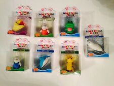 NEW TY  BEANIE PUZZLE NOVELTY PUZZLE ANIMAL RUBBER ERASER SCHOOL IWAKO