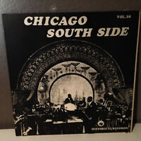 """Chicago South Side Jazz Compilation - 12"""" Vinyl Record LP - EX"""
