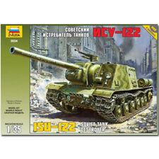 Zvezda 3534 ISU-122 soviétique Tank Destroyer 1,35 kit de modèle militaire