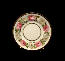 """Royal Garden / Gold by Royal Worcester BREAD & BUTTER 6 1/4"""""""
