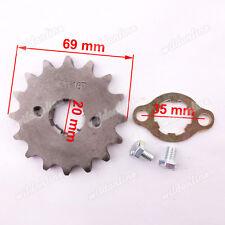 420 20mm 16 Zähne Kette Kettenrad Für 110cc 125cc 150cc 160cc Pit Dirt Bike ATV