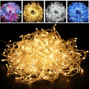 20//100/200/300/500 LED AU plug/Battery Powered Fairy String Lights Outdoor Xmas