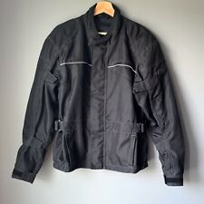 Bilt Motorcycle Jacket Textile Mesh With Padded Arms Size Medium