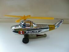 Helicopter - Police Patrol - Grey - Tin - Japan
