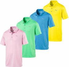 Rotación de Puma a Rayas Polo Golf Camisa 578790 para Hombre Nuevos-Choose Color & Size!