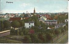 Elmshorn, Panorama, alte Ansichtskarte um 1910