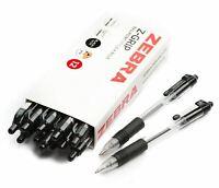 Zebra Z-Grip Retractable Ballpoint Ball Pen 1.0 Medium - BLACK