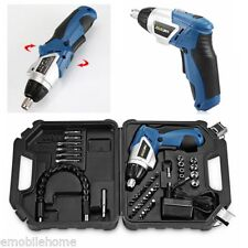 45 in 1 Power Tool 180° Rechargeable Cordless Electric Screwdriver Drill Kit Set
