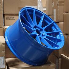 Ground Force GF6 19x8.5/19x10.5 5x114.3 Blue Wheels (set of 4)