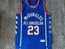 1980 Michael Jordan #23 McDonald's All American Basketball Jersey Sewn Xxlarge