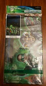 Green Lantern Movie Cover Tablecloth Hallmark DC Comics Characters 54X102 Hero