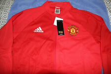 Manchester United Anthem Jacket 2016/2017 Adidas Mens Large Red Devils New