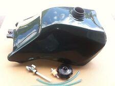 HONDA TRX300 TRX 300 93-2000 PLASTIC GAS FUEL TANK FOURTRAX GREEN with petcock
