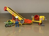 PLAYMOBIL 6132 Mobile conveyor belt