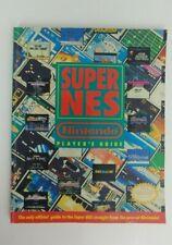 Super Nes Nintendo Official Players Guide Snes