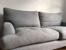 """Sofa.com Two Seater Grey Wool """"Isla"""" Sofa"""