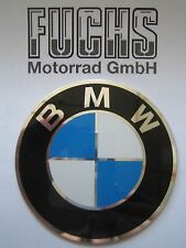 Original BMW Emblem 70mm R45 R65 R65RT R80 R80RT R100/7 R100CS R100RS R100RT neu
