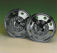 "Motorhome Wheel Trims | 16"" Chrome Look | American Style - Hub Caps - SET OF 2"