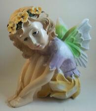 Resin Fairy Tale Princess Angel Tinker Bell Pixie Figurine Shelf Mantel Sitter
