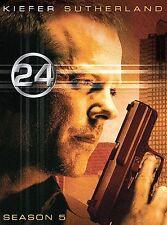 24: Complete TV Season 5/Five (DVD Boxset New) *Kiefer Sutherland* WS